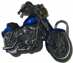 Chopper Easy Rider Motorbike Belt Buckle + display stand